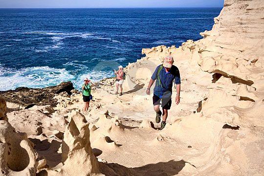 Wanderung Fuerteventura La Pared
