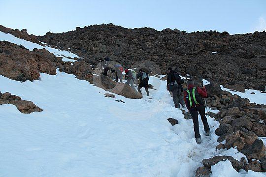 Teide trekking for experienced hikers