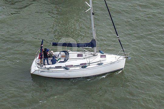 sailing boat in Bilbao