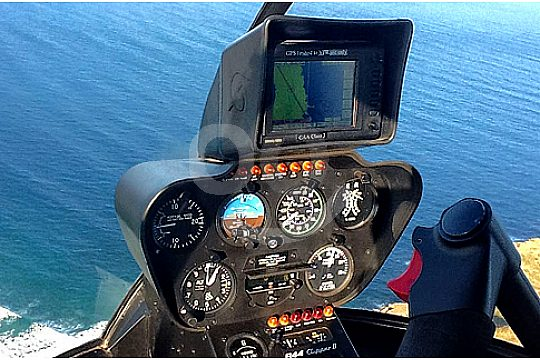 Helicopter steering
