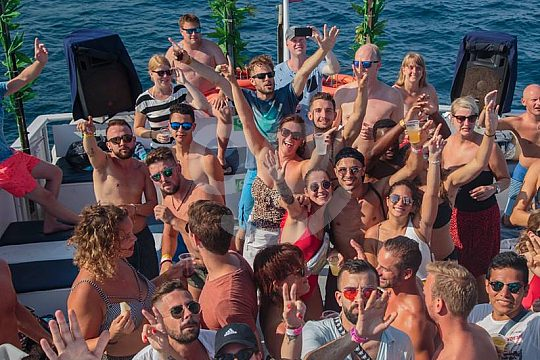 Partyspaß auf Ibiza