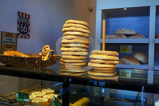 bakery at Chania food tour in Crete