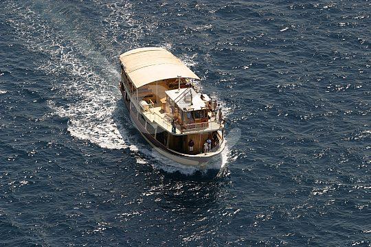 Barca Samba wooden boat Majorca