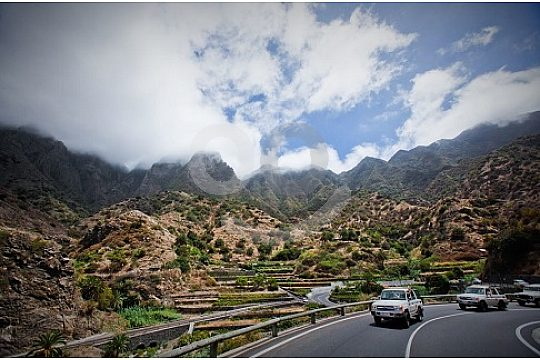 Beautiful landscapes to discover Gomera at the Jeep Safari Tenerife
