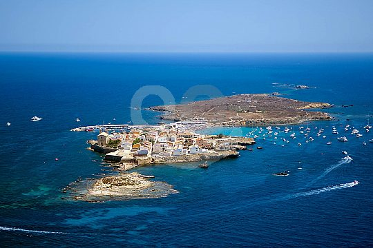 island Tabarca from above