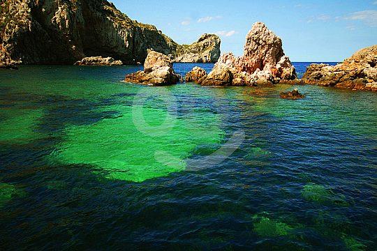 klares Wasser an den Islas Medas