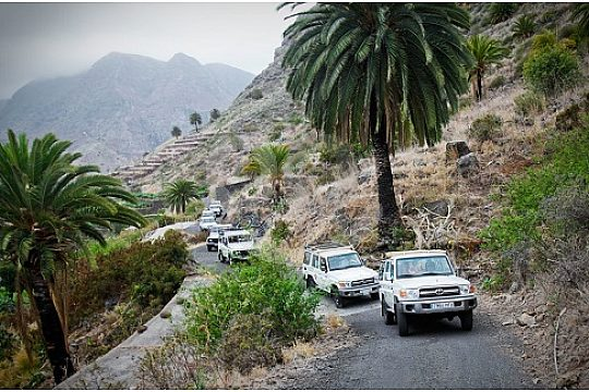 Discover Gomera with the Jeep Safari from Tenerife