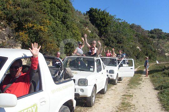 self-drive jeep safari in Crete