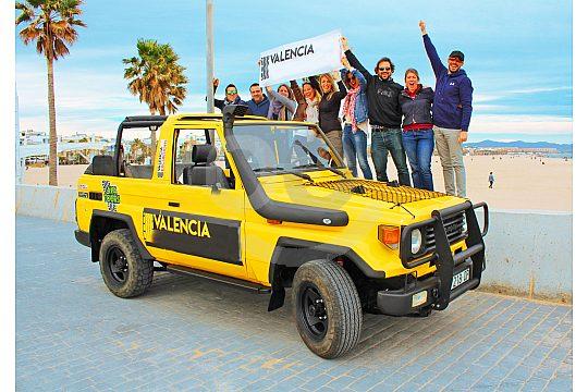 Jeep Safari City Tour Valencia