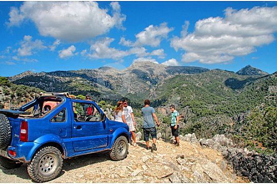 4x4 Mallorca in sierra tramuntana