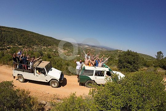 Jeep Safari in the nature of Algarve