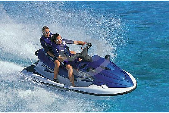 jetskiing Menorca jet ski ride water sport