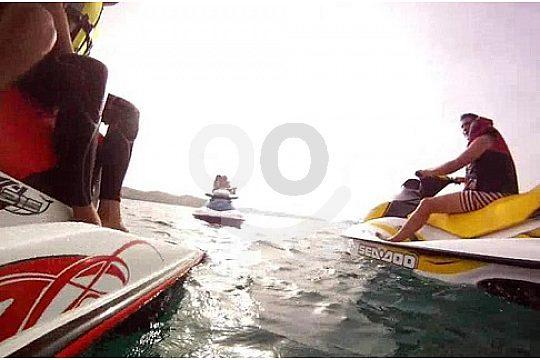 jetski ride in Menorca