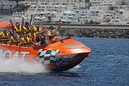 Jet Boat in Southern Lanzarote