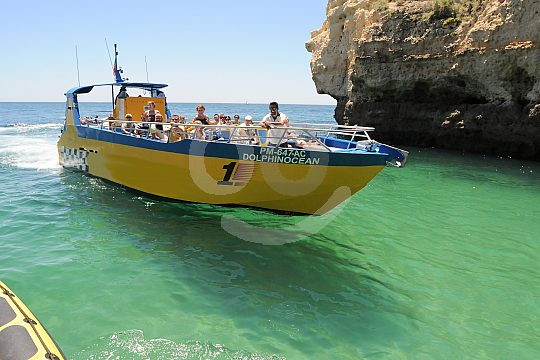 Jet boat tour in the Algarve
