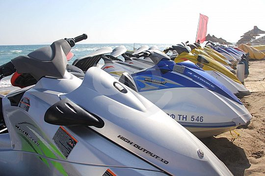 Jet Skiing in Crete