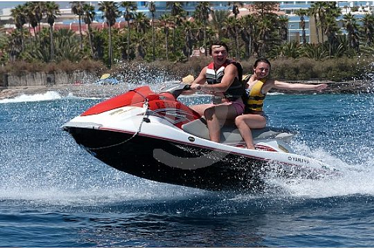 Water fun with the Jet Ski Tenerife