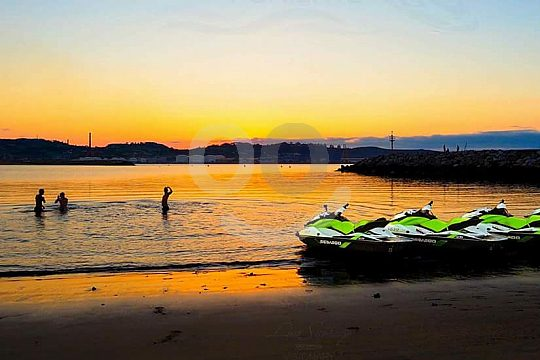 Sunset Jet Ski Tour Gijón