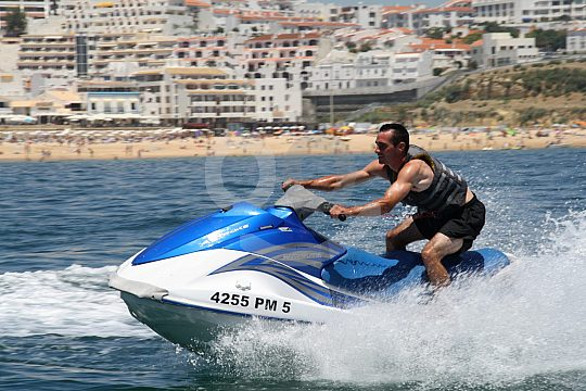 Jet skiing excursion in the Algarve