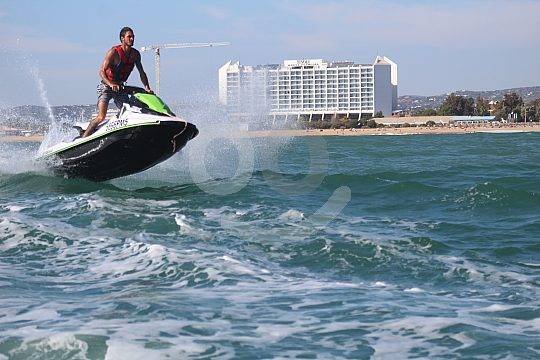 Jet ski in the Algarve