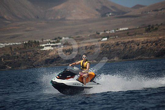 jet skiing Lanzarote