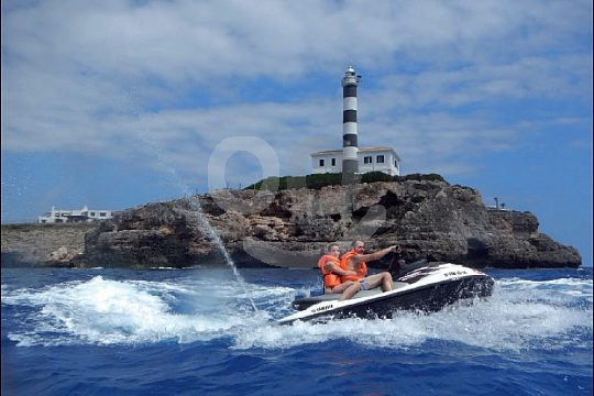 on Jetski Tour from Portocolom