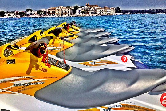 the jetski rental in Portocolom