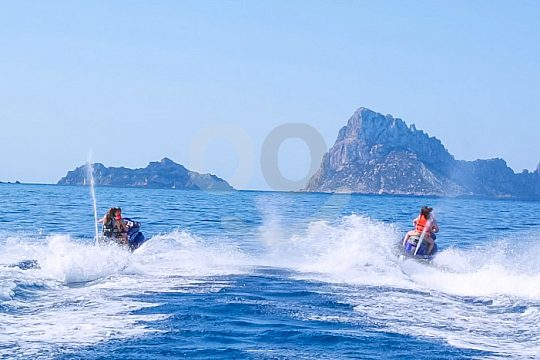 hire a jet ski without licence Ibiza