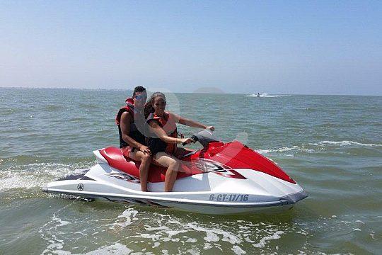 ride a jetski on Guadalquivir river