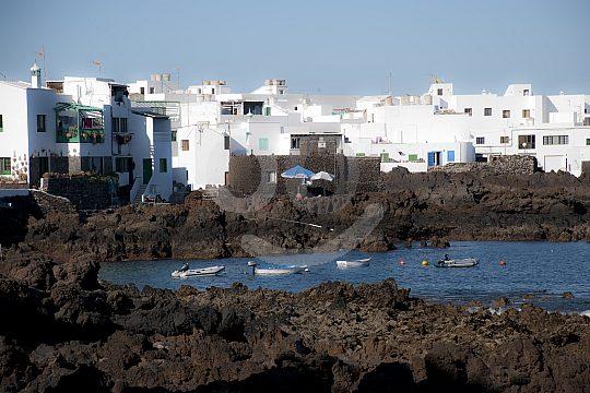 Village and beach Lanzarote