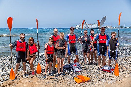 Wassersport für Gruppen und Familie auf Teneriffa