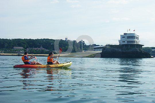 Santander kayak excursion