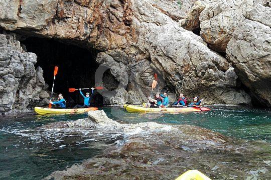 Per Kayak in den Naturpark del Montgo