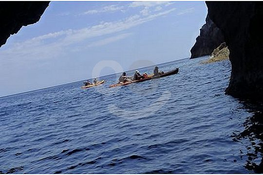 Kajak trip in Menorca South and North