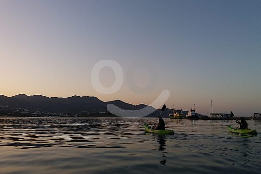 Sea kayak tour in Crete