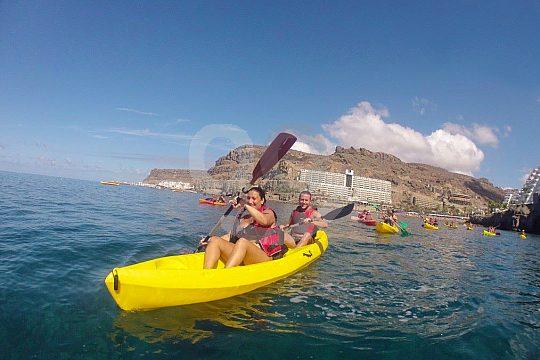 Kayaking in Gran Canaria
