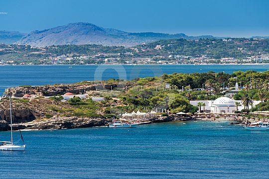 coast Kallithea Northeast Rhodes
