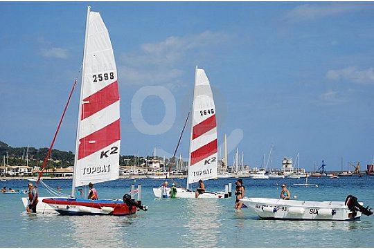 Charter catamaran Mallorca