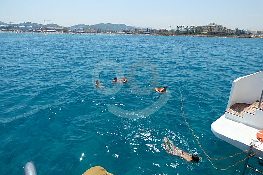 Catamaran trip starting from Gandia harbour