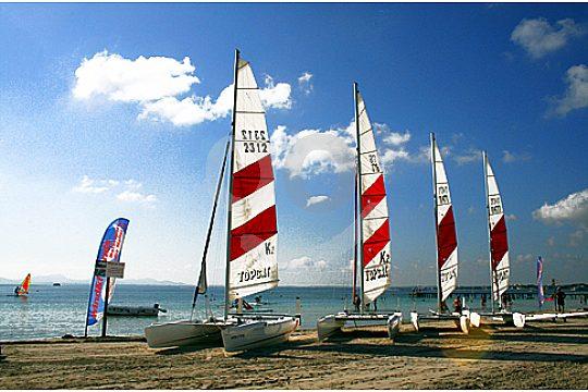 Topcat catamaran hire in Mallorca