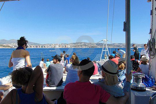 passenger on catamaran