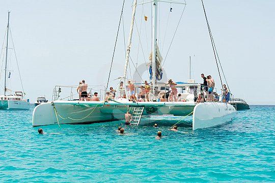 Catamaran from Ibiza to Formentera