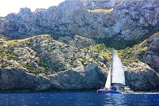 Formentor catamaran tour