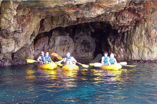 Kayak Tour mit Guide in Denia