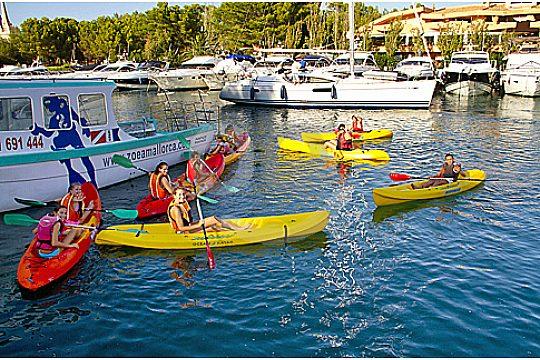 kayak tour in majorca