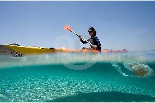 Kayak Menorca in the North