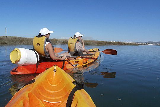 Kayak Tour in the Algarve