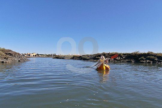Kayaking in the Algarve