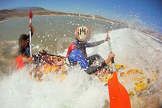 Playa Blanca kayak tour in Lanzarote