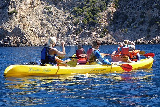 guided kajak tour Majorca